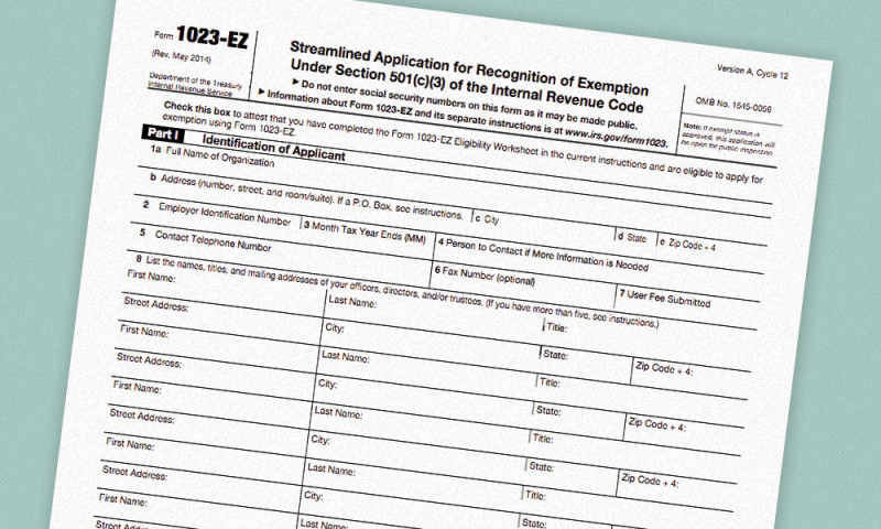 IRS Introduces New Short Application Form for 501(c)(3 ...