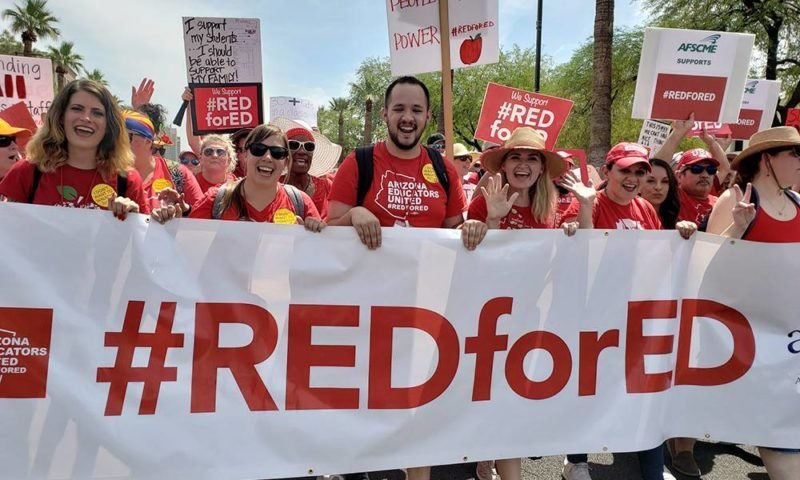 Arizona teachers' walkout ends with new education funding